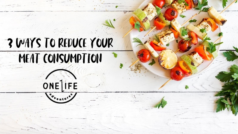 3 Ways to Reduce Your Meat Consumption