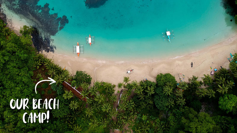 What's It Like at Our Private Overnight Beach Camp?