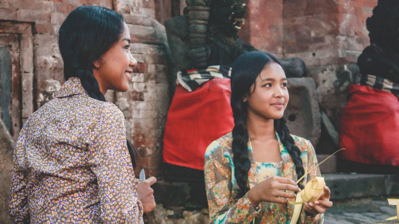 young women in indonesia