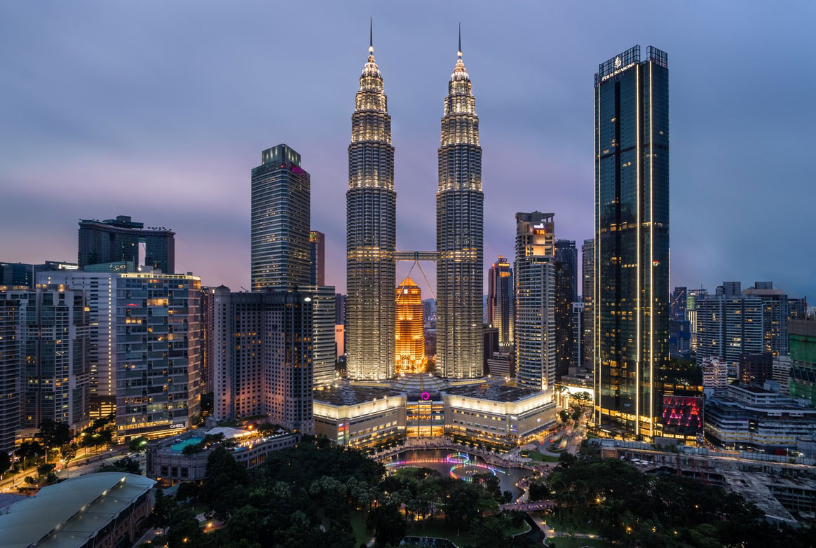high rise buildings in kl, malaysia